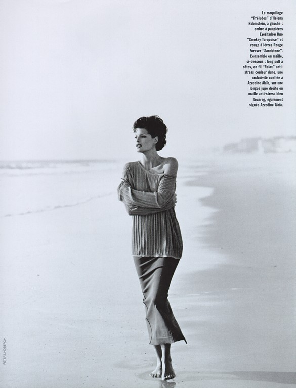 Vogue Paris 1992 May ph Peter Lindbergh 1